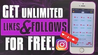 GET 100% REAL LIKES & FOLLOWERS ON INSTAGRAM FOR FREE ** 2018 ** WORKING