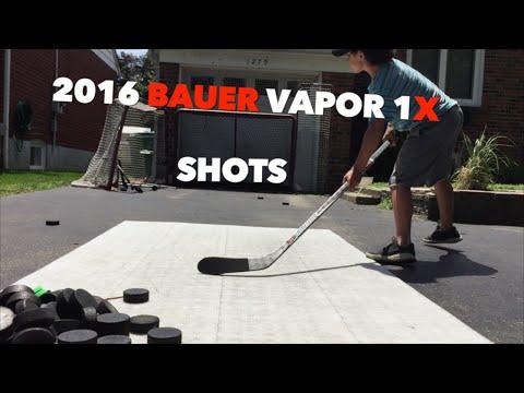 2016 Bauer Vapor 1x Shots {} WristyTwisty