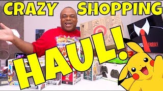 CRAZY SHOPPING HAUL! - What Did I Buy? [Black Friday]