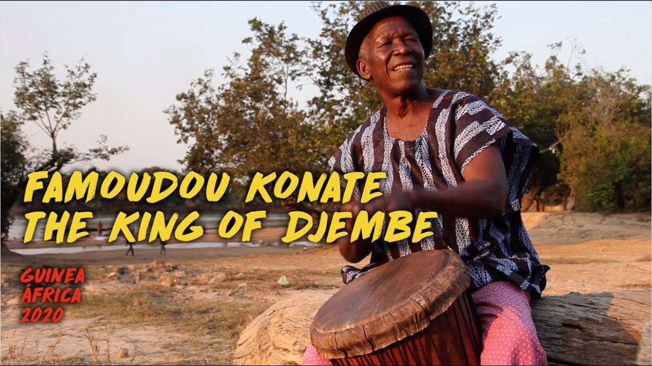 Famoudou Konate - King Of Djembe - My RØDE Reel 2020