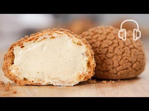 シュークリーム   クッキーシューの作り方