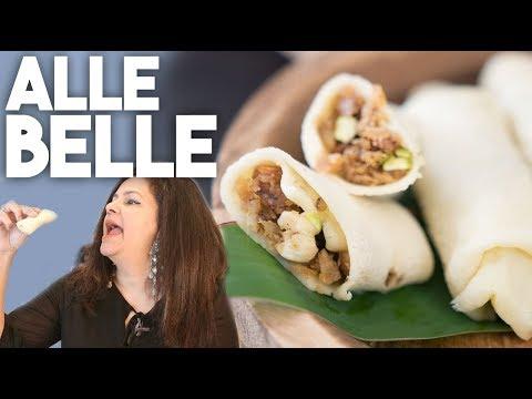 Alle Belle | COCONUT Crepe Pancake - Fat Tuesday | Kravings