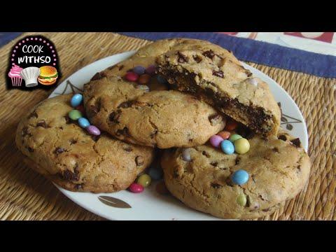 cookies-aux-smarties-(coeur-fondant-nutella)---recette-simple-et-rapide
