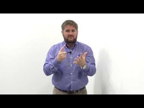 Paul Kirby teaches BSL ABC