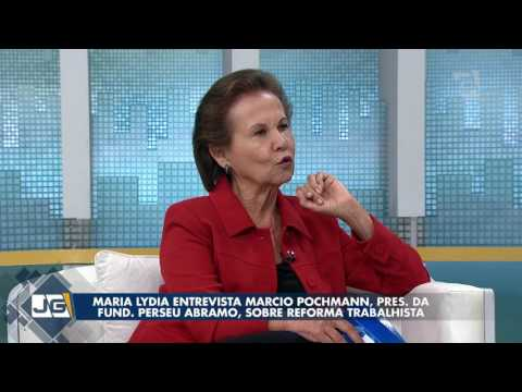 Maria Lydia entrevista Marcio Pochmann, pres. da Fund. Perseu Abramo, sobre reforma trabalhista