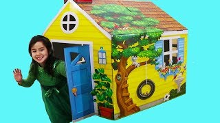 Jannie Pretend Play with Toy House