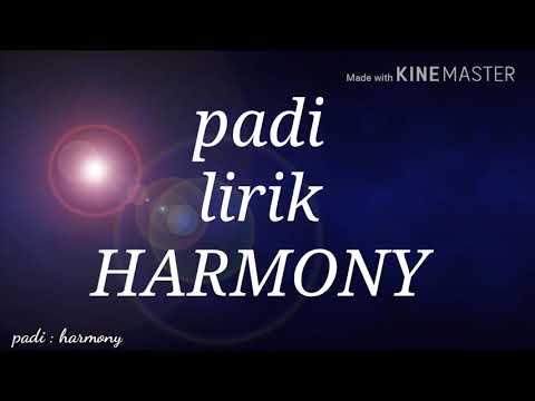 Padi - harmony (lirik)