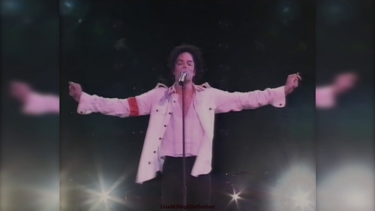 Michael Jackson Man In The Mirror Live Brunei 1996 Hd Youtube