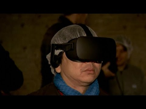 Virtual reality allows visitors see ancient Rome palace