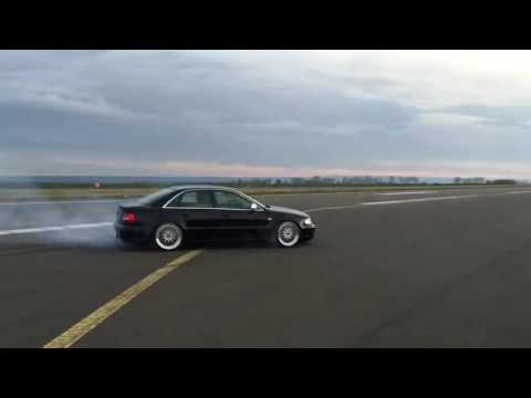 Audi A4 (Old) 800hp+ Dirft and Burnout Top Gear* MONSTER !