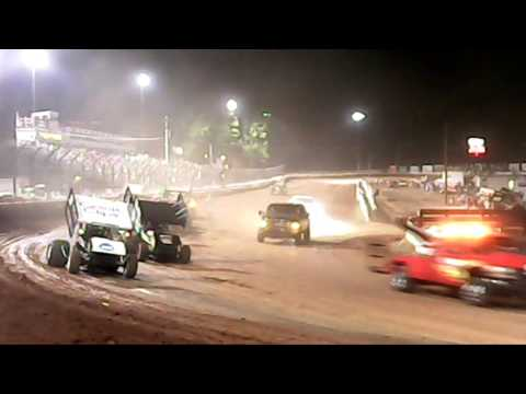 Williams Grove Speedway World of Outlaws Highlights 7-23-16