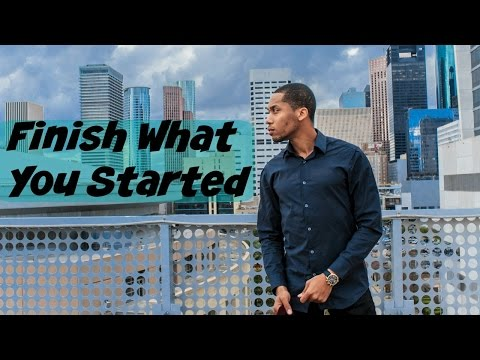 My First Business Venture | Finish What You Started