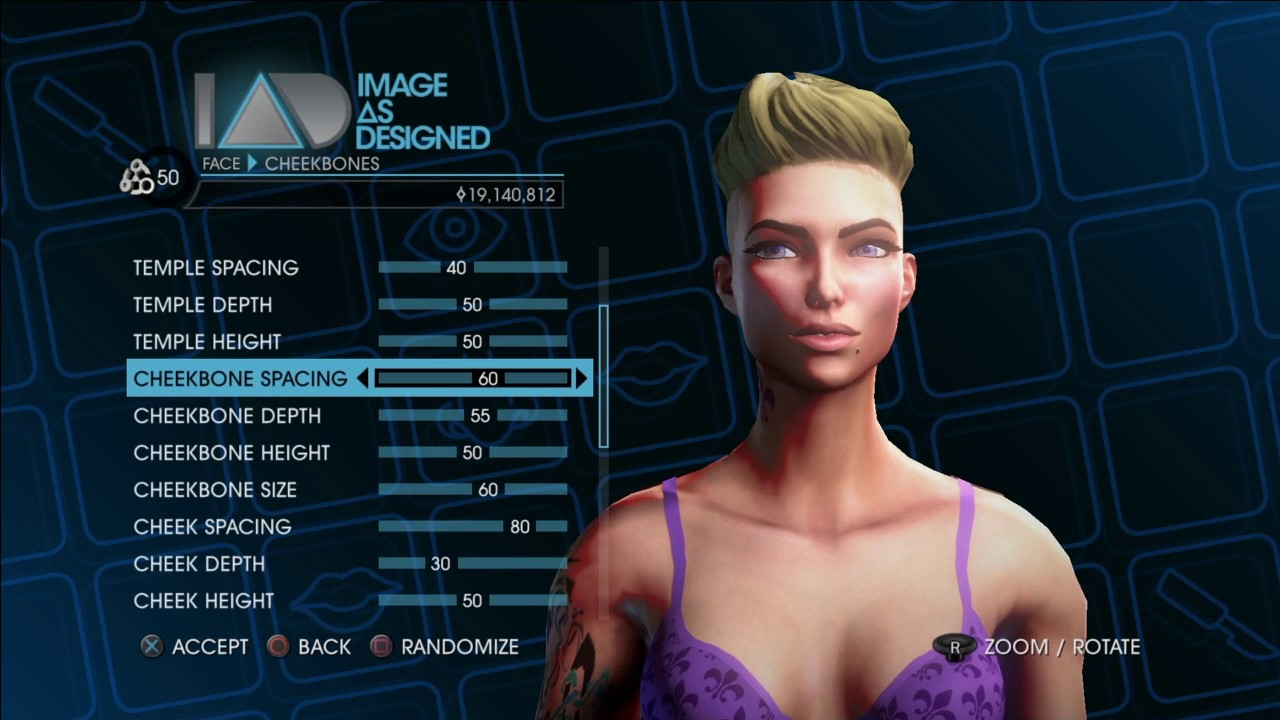 Saints row 3 how to make a sexy character