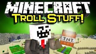 Minecraft Троллинг FUNNY Приколы над Друзьями
