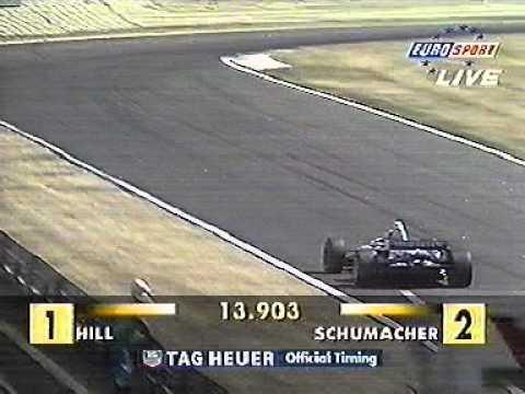 Taki Inoue 1995 Hungarian GP Hungaroring