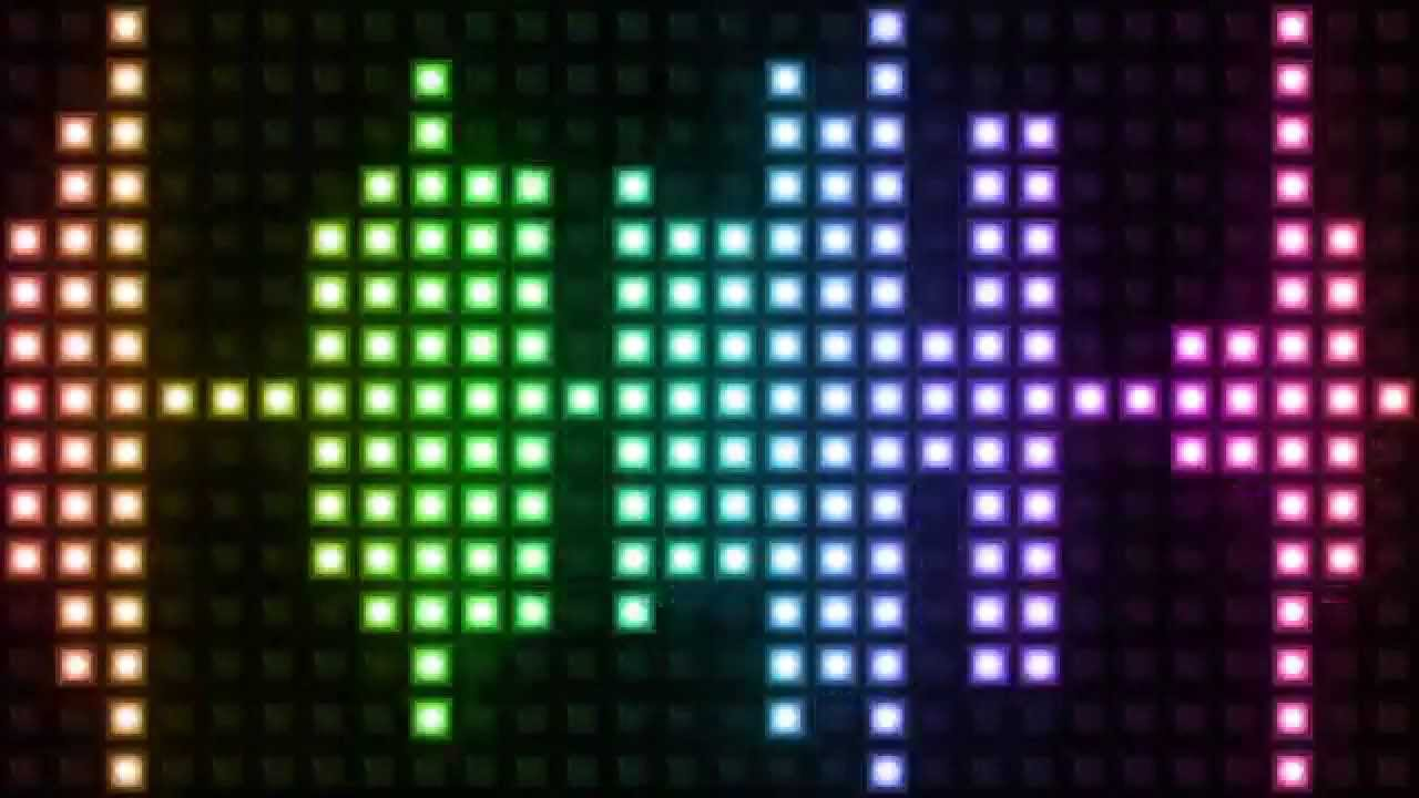 Motion Graphic VJ Colorful Light Audio Equalizer Footage Analyzer Spectrum  Background Free Download