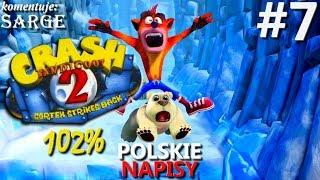 Zagrajmy w Crash Bandicoot 2 PS4 Remake (102%) odc. 7 - Mech doktora N. Gina | napisy PL