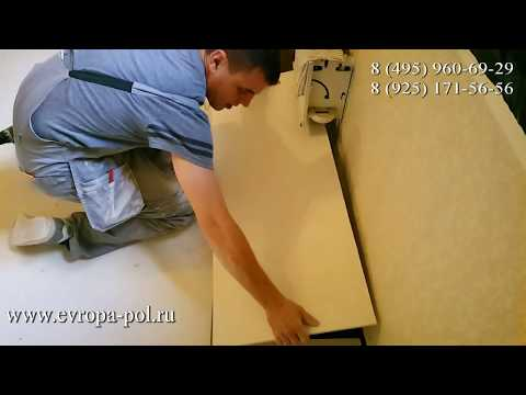Сухая стяжка: Полная замена пола в квартире за 35 часов!
