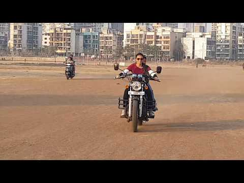 Royal Enfield Thunderbird|Fun With Kids|Kz On Rides|Motovlogger In Navi Mumbai
