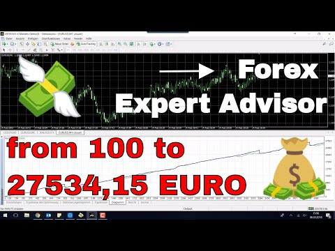 EA Expert Advisor von 100 auf 27434,15 EURO in DREI MONATEN