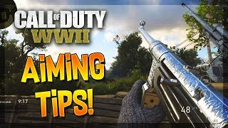 Becoming The Best COD Player - Improving Your AIM In COD WW2! (Call of Duty: WW2 Aiming Tips)