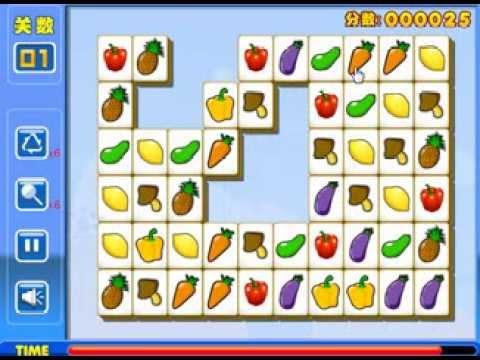 เกมส์จับคู่ เกมส์ เกมส์จับคู่ภาพเหมือนพืชผัก