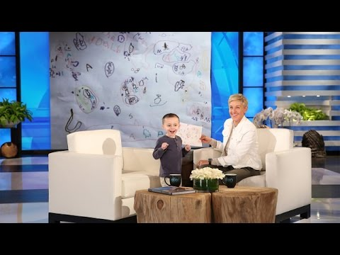 Thumbnail: Ellen Meets a 5-Year-Old Geography Expert