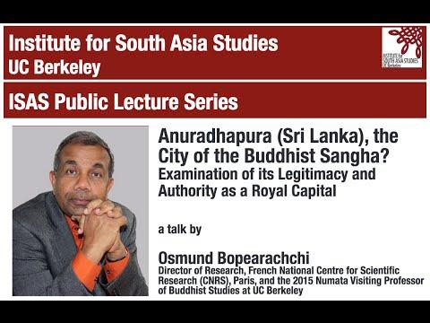 Anuradhapura (Sri Lanka), the City of the Buddhist Sangha?
