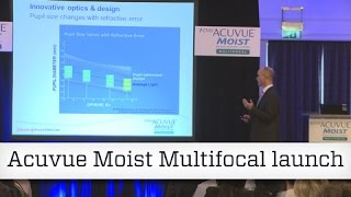 Acuvue Moist Multifocal launch(Johnson & Johnson Vision Care has launched a new contact lens into its Acuvue Moist portfolio. OT speaks to the contact lens about its latest multifocal product., 2015-06-15T08:53:10.000Z)