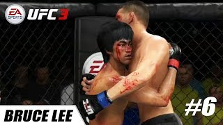 EA Sports UFC 3 - PS4 Pro 1080p 60fps / Bruce Lee vs Nick Diaz #6