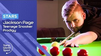 Jackson Page | Welsh Teenage Snooker Sensation | Trans World Sport