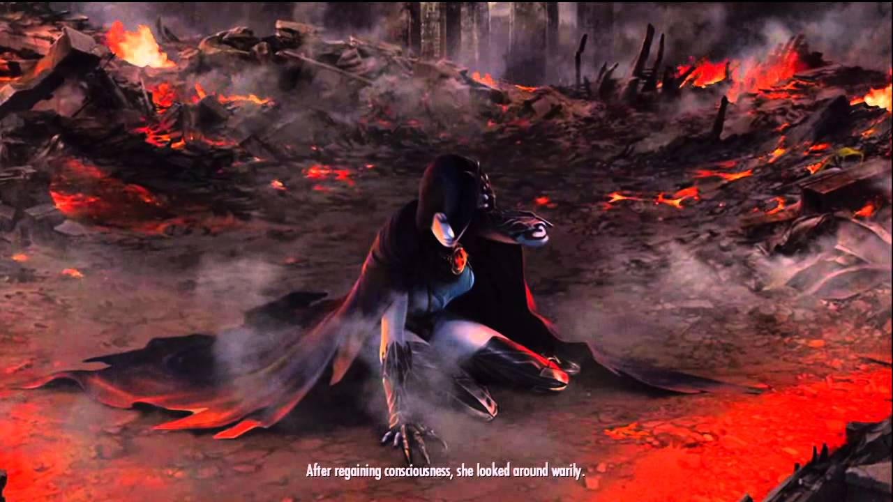 Injustice gods among us: Raven ending - YouTube