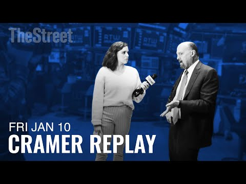 Jim Cramer on the Jobs Report, the Dow's Record Highs, Boeing and Apple