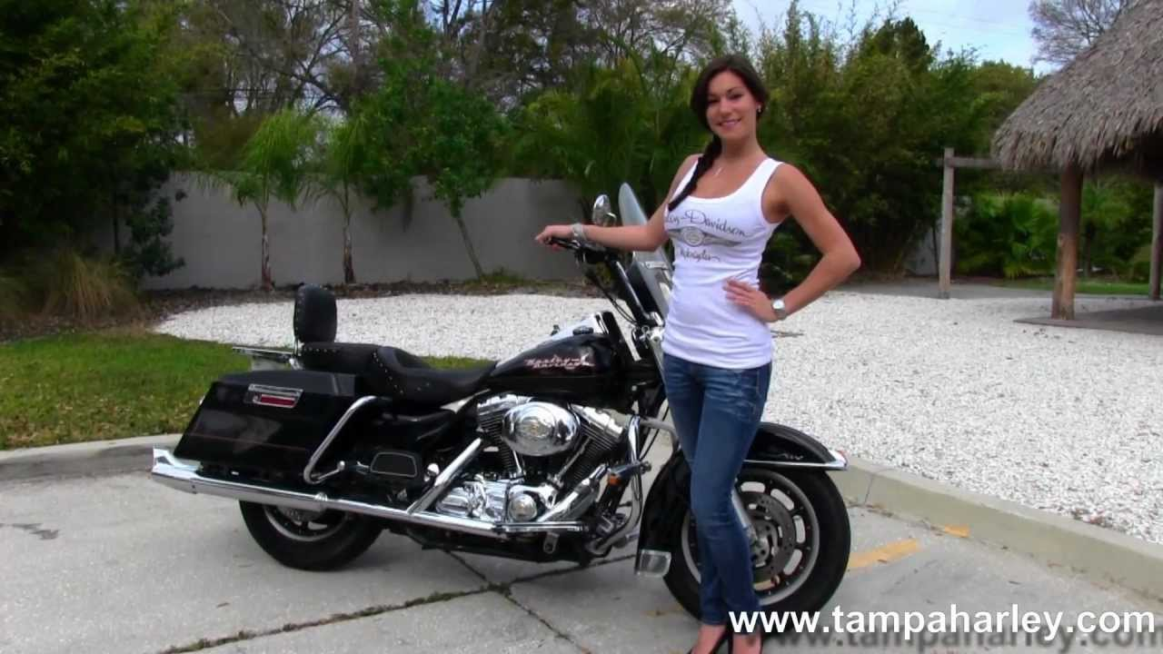 2002 Harley Davidson Flhr Road King Used Motorcycles For