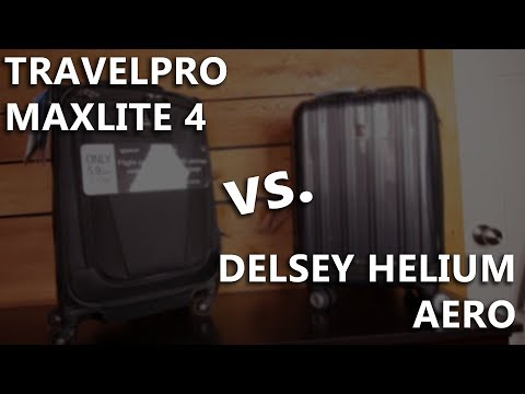 [REVIEW] - TravelPro vs. Delsey: 4 Tests and Key Differences You Should Know