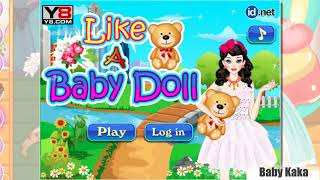 BABY DOLL Dresses Fashion Clothes | Game For Kids | Baby Kaka