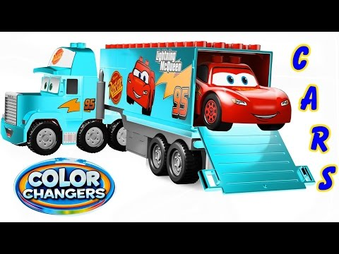 Playsets Cars Color Changers