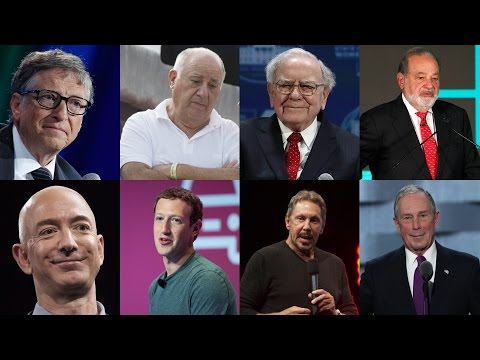 Wealth of 8 men equals the poorest half of the world