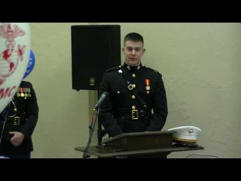 Marine Corps Officer Commissioning, Trey Graham, 17th Dec 2017