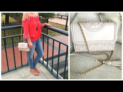 Tory Burch Small Fleming Bag | Review | What's In My Bag