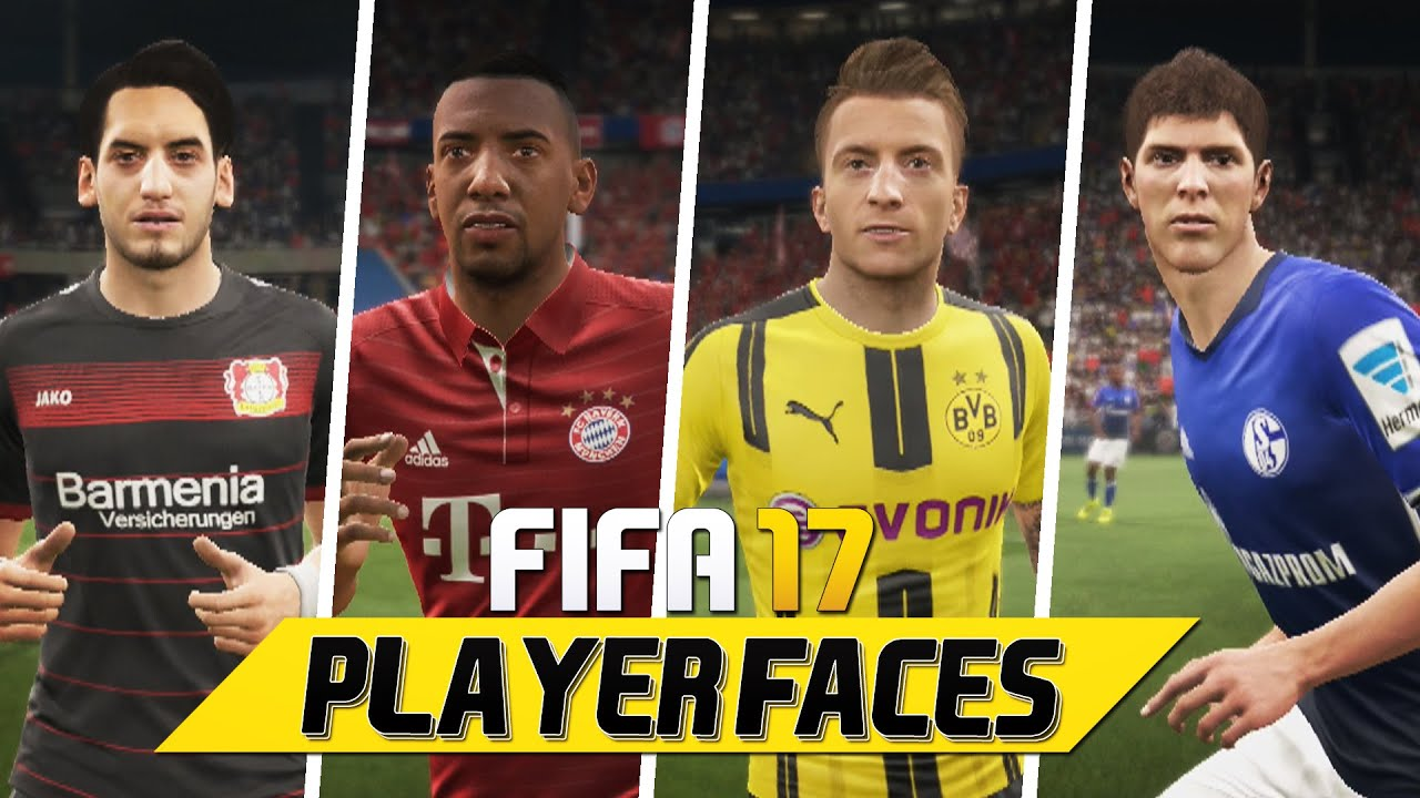 Bundesliga Face Pes 2017