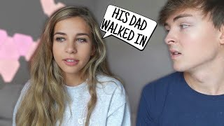 HIS DAD WALKED IN ON US... (STORY TIME) Video