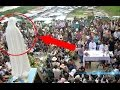 virgin mary moving statue caught on camera