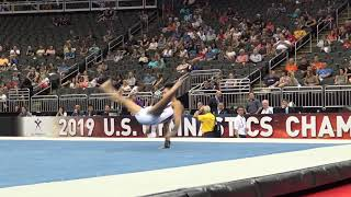 Yul Moldauer -  Floor Exercise - 2019 U.S. Gymnastics Championships - Senior Men Day 1