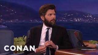 "Adam Scott LOVES Watching ""The Bachelorette""  - CONAN on TBS"