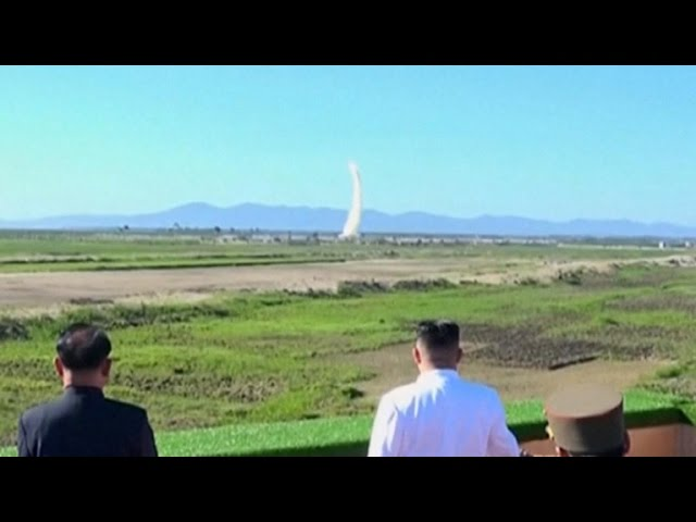 North Korea launches missile toward Japan
