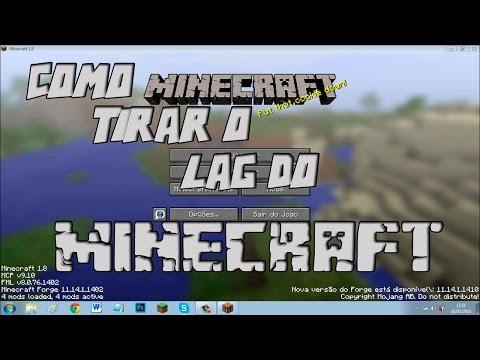Como tirar 100% do lag do Minecraft 1.8 #EM 3 PASSOS