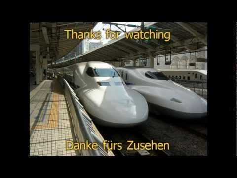 Unterwegs - Per Shinkansen von Tokio nach Hiroshima