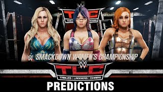 WWE TLC: Tables, Ladders & Chairs 2018 Predictions