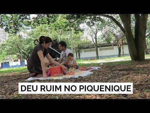 DEU RUIM NO PIQUENIQUE   Vlog #108   Lia Camargo